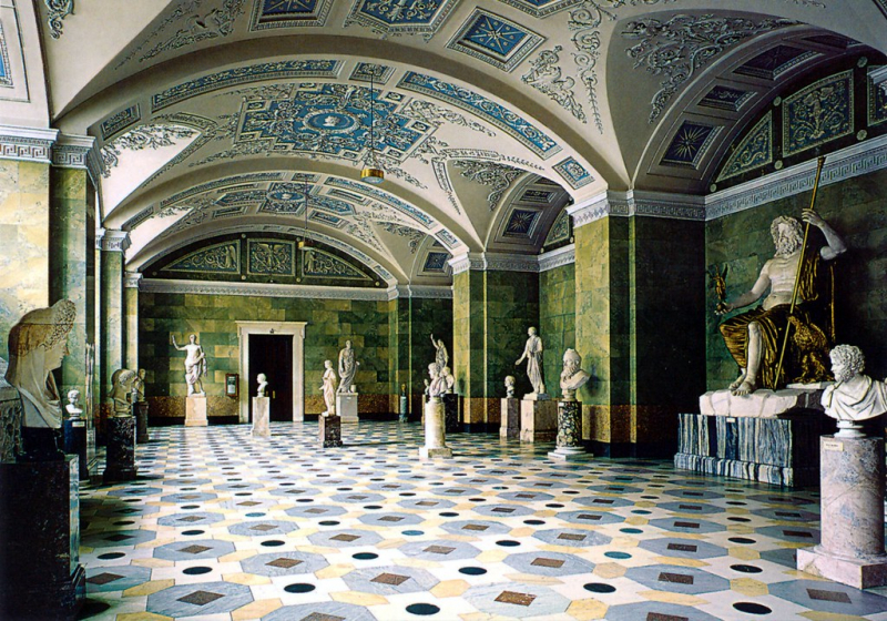 The Jupiter Hall of the Hermitage. Credit: Striderv / Flickr.