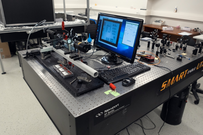 New equipment of ITMO University's Faculty of Physics and Engineering