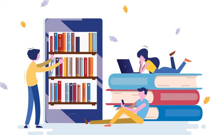 Чтение в современном мире. Источник: shutterstock.com