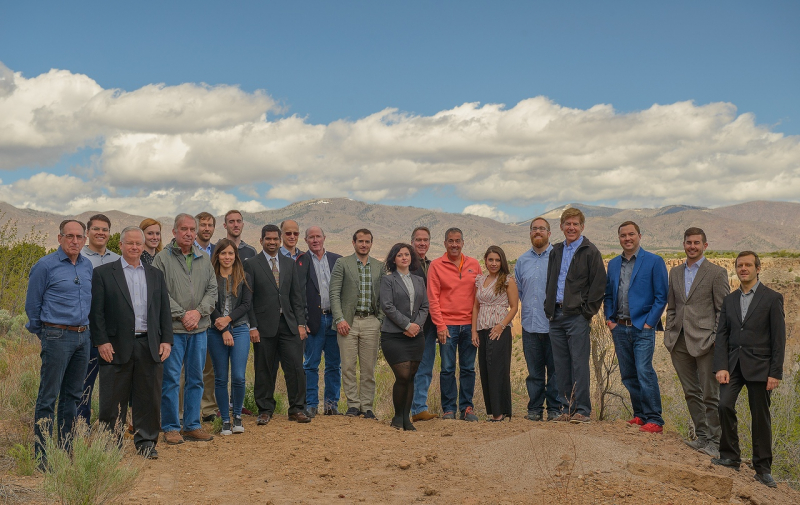 UbiQD staff and investors at Mount Hermon, California. Photo courtesy of the subject.