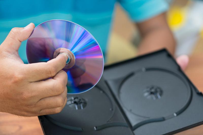 DVD. Credit: shutterstock.com