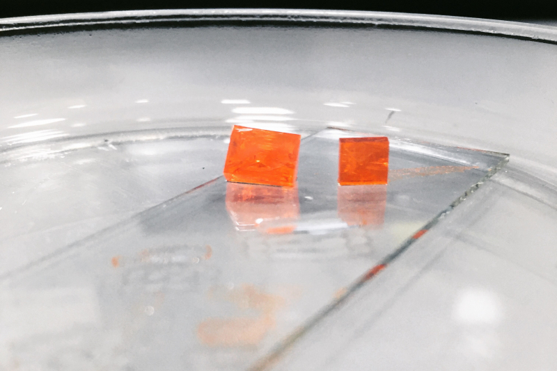 Cubic perovskite particles. Photo provided by article's authors