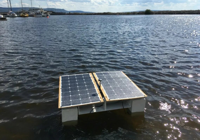 Water drone tests on Volga. Credit: airalab.org