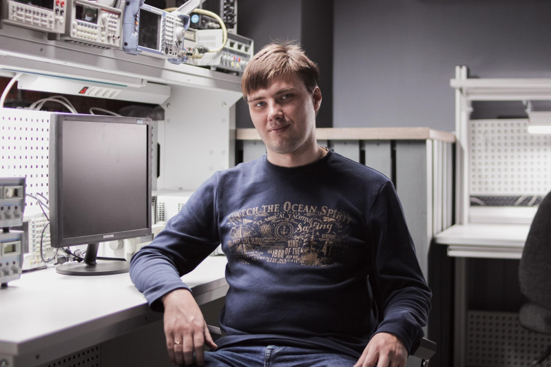 Andrey Sayanskiy. Photo courtesy of the Faculty of Physics and Engineering