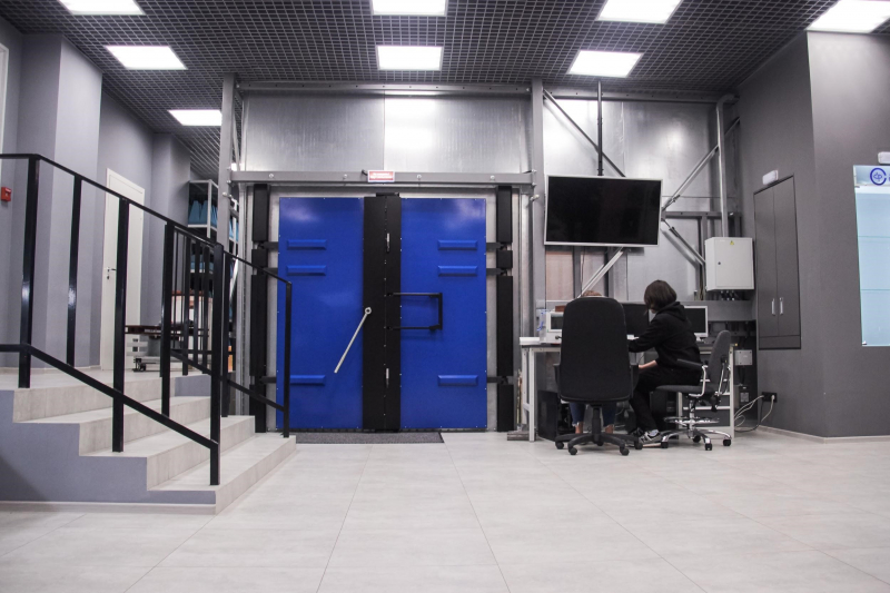 New laboratory space. Photo courtesy of the Faculty of Physics and Engineering
