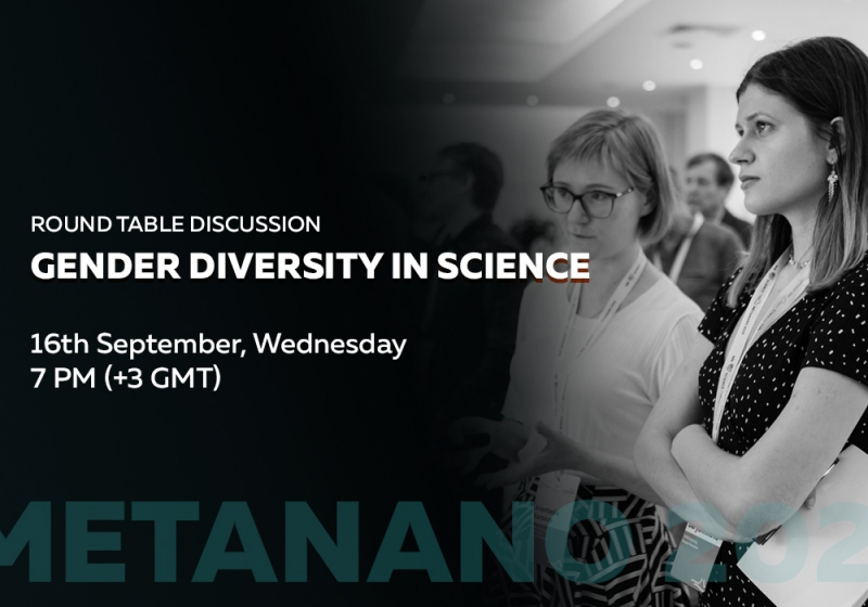Round-table discussion on gender diversity in science at the METANANO 2020 Conference. Credit: social media
