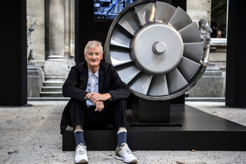 James Dyson. Credit: standard.co.uk