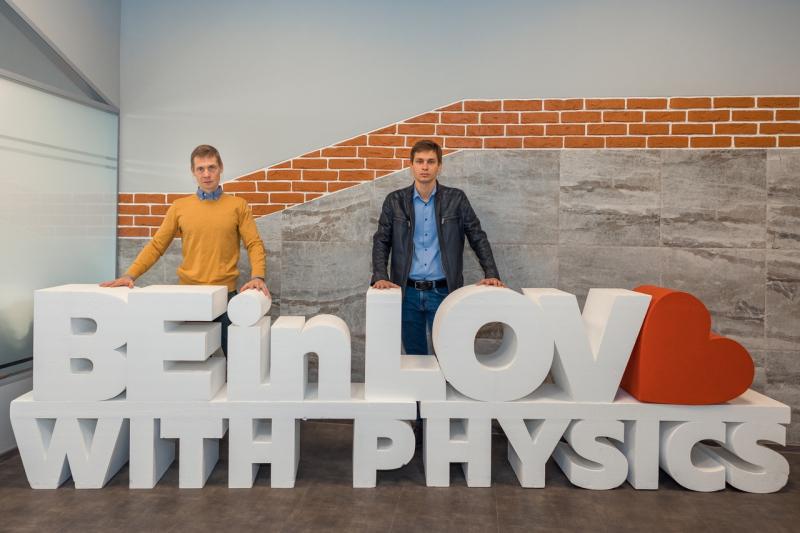 Mikhail Rybin and Artem Sinelnik