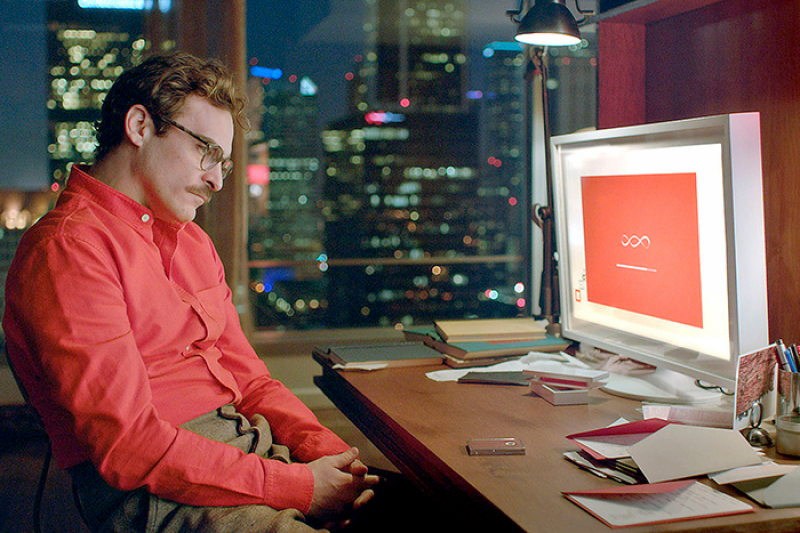 A frame from the movie Her