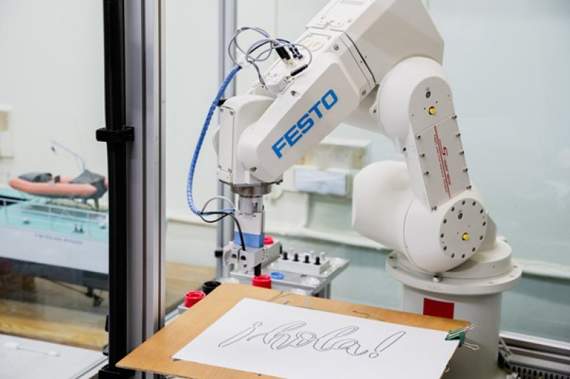 Picture of the Week: FESTO Robot Vision Cell With Complex Arm Movement