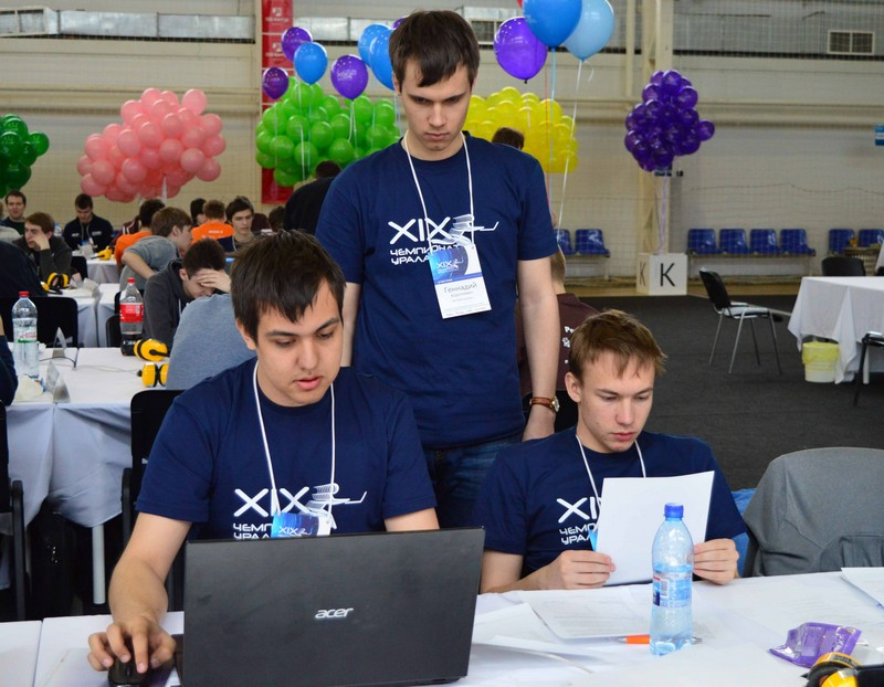 Чемпионат Урала собрал финалистов ACM ICPC
