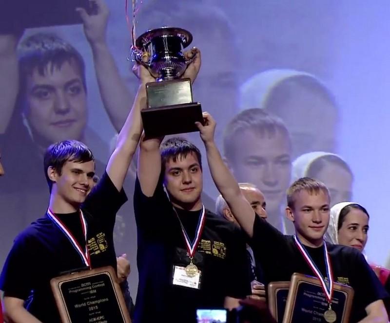 Университет ИТМО стал шестикратным чемпионом ACM ICPC!