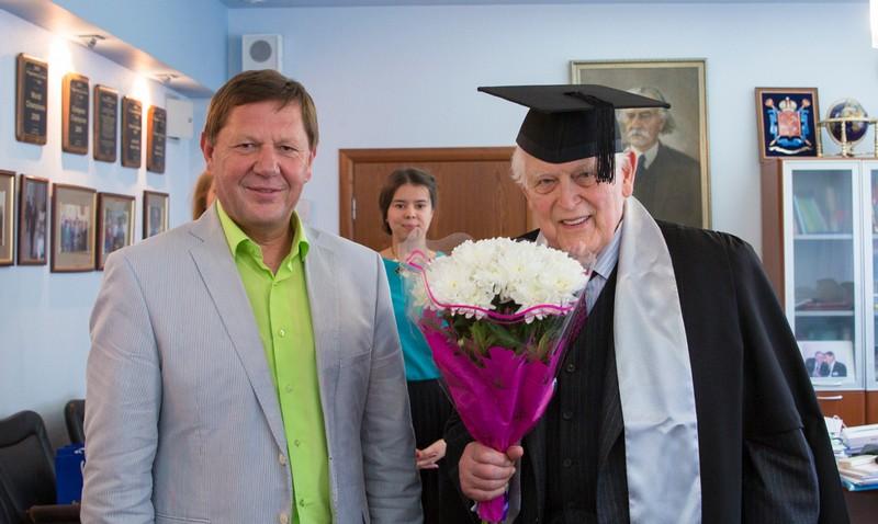 Профессор Рудольф Калман стал почетным доктором Университета ИТМО