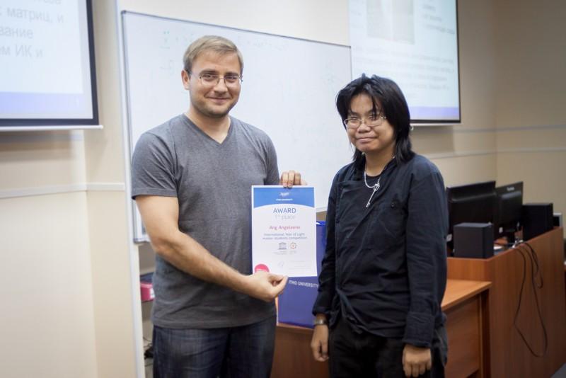 В Университете ИТМО наградили победителей конкурса портфолио
