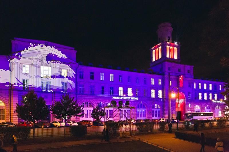 В Петербурге впервые прошел фестиваль светового дизайна LumiFest