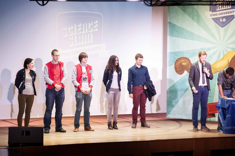 И смех, и наука: Университет ИТМО провел первый внутривузовский Science Slam в Петербурге