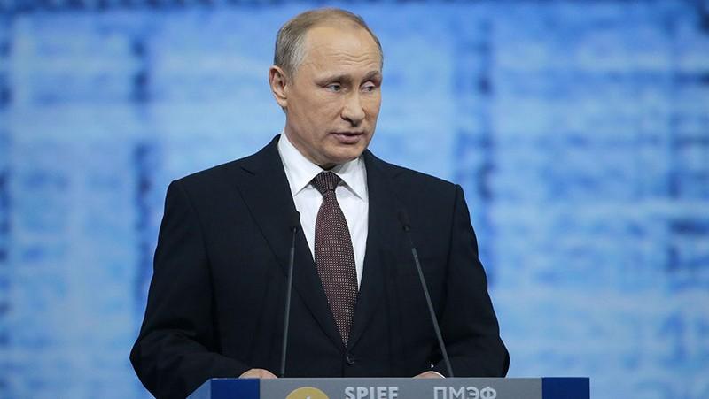 ПМЭФ-2016: Путин призвал к международному сотрудничеству на пути научно-технологической революции