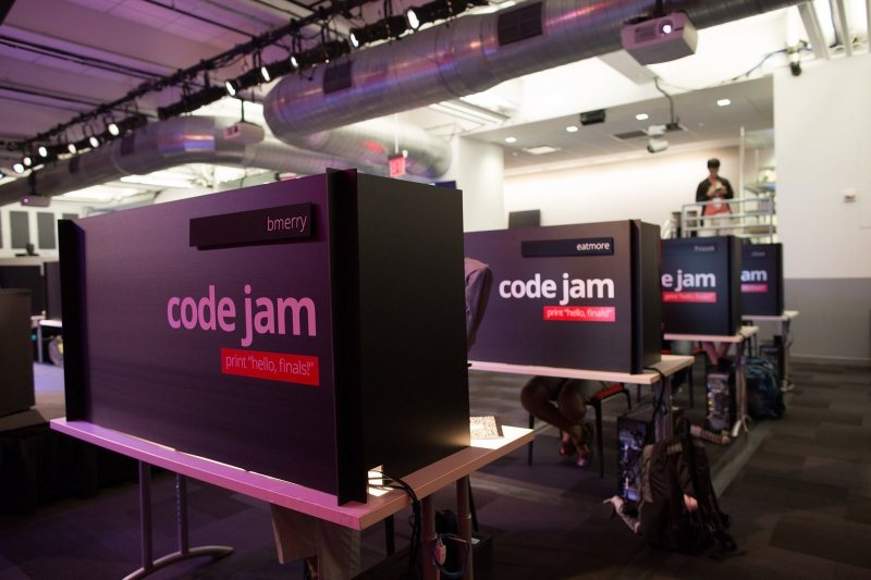 Code jam prizes and awards
