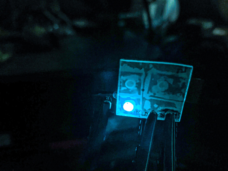 Picture of the Week: Light-Emitting Perovskite