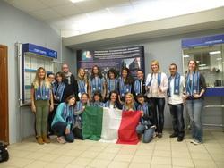 К нам вновь приехали итальянские студенты