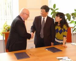 Делегация из Южно-Китайского университета науки и технологий посетила НИУ ИТМО
