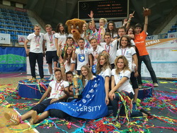 Футболисты «Кронверкских барсов» – победители Moscow Games 2014