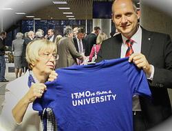 Университет ИТМО поздравил немецкого партнера с юбилеем