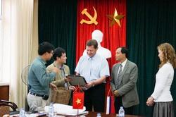 Визит делегации Университета ИТМО в город Ханой