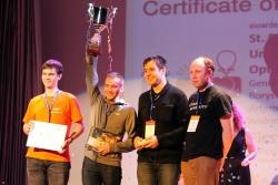 圣光机大学学生获得编程大赛俄罗斯地区冠军