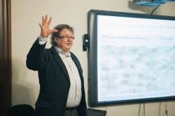 Профессоры Пауль Урбах и Юрки Сааринен рассказали о научном климате в Европе