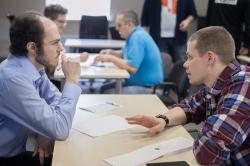 Начинающие предприниматели и финские эксперты по инновациям встретились на Startup Sauna