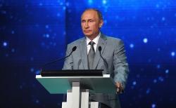 Владимир Путин привел команду Университета ИТМО в пример школьникам