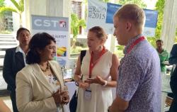 Петербургские ученые представили на Маврикии разработки в области метаматериалов