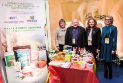 Пища для здорового города: в Петербурге проходит продовольственная выставка