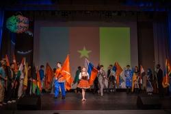 «Разные, но едины» — в Петербурге прошел международный студенческий фестиваль «Люди мира»