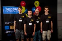 Болеем за наших: команда Университета ИТМО в финале международного чемпионата по программированию ACM ICPC