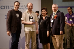 Stankevich Receives ACM ICPC Senior Coach Award