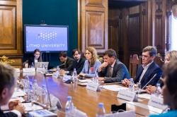 Международный совет о деятельности вуза: результаты хороши, но впереди еще много работы