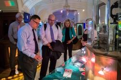 Представители Университета Миссури заложили первый «кирпич» в фундамент партнерства