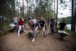 Ежегодный международный лагерь в Ягодном: социальные проекты и спорт на берегу озера