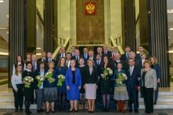 Minister Olga Vasilyeva Awards ITMO's Staff with Russian Federation Government Prize inEducation