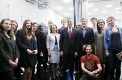 New U.S. Ambassador to Russia Jon Huntsman Visits ITMO