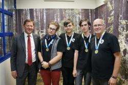 Member of ITMO School Robotics Team to Represent Russia at Intel ISEF