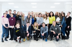 Russian and Finnish Students Learn About Business Together with FIRST+