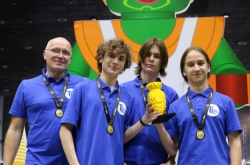 ITMO Robotics Team Wins Gold at World Robot Olympiad 2018 in Thailand