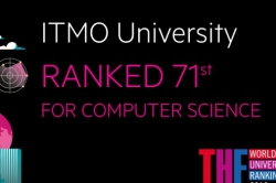 ITMO University Tops List of Russian Universities in THE Computer Science Subject Ranking