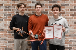 ITMO Students Score Second and Third in Robotex Competition