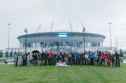 Rain or Shine: A Look at ITMO University's 11th Bike Ride with the Rector