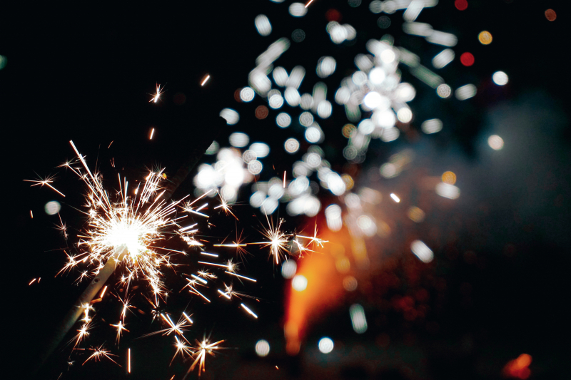 Fireworks and Palaces: New Years in St. Petersburg