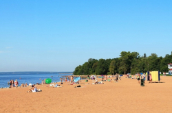 Surviving a Hot Day: Beaches in and around St. Petersburg